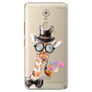 Plastové puzdro iSaprio - Sir Giraffe - Lenovo K6 Note vyobraziť