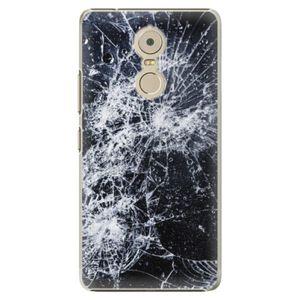 Plastové puzdro iSaprio - Cracked - Lenovo K6 Note vyobraziť