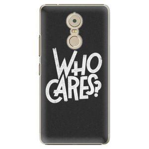 Plastové puzdro iSaprio - Who Cares - Lenovo K6 Note vyobraziť