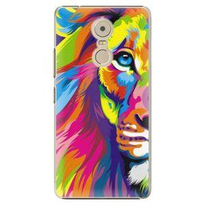 Plastové puzdro iSaprio - Rainbow Lion - Lenovo K6 Note vyobraziť