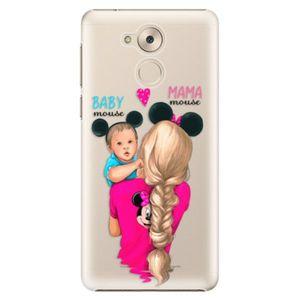 Plastové puzdro iSaprio - Mama Mouse Blonde and Boy - Huawei Nova Smart vyobraziť