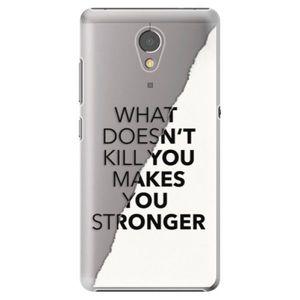 Plastové puzdro iSaprio - Makes You Stronger - Lenovo P2 vyobraziť