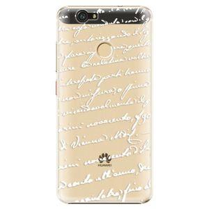 Plastové puzdro iSaprio - Handwriting 01 - white - Huawei Nova vyobraziť