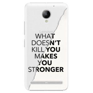 Plastové puzdro iSaprio - Makes You Stronger - Lenovo C2 vyobraziť