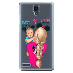 Plastové puzdro iSaprio - Mama Mouse Blonde and Boy - Xiaomi Redmi Note vyobraziť