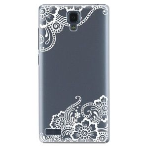 Plastové puzdro iSaprio - White Lace 02 - Xiaomi Redmi Note vyobraziť