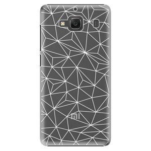 Plastové puzdro iSaprio - Abstract Triangles 03 - white - Xiaomi Redmi 2 vyobraziť