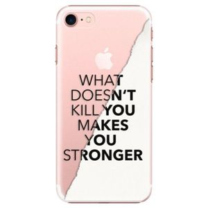 Plastové puzdro iSaprio - Makes You Stronger - iPhone 7 vyobraziť