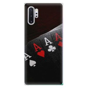 Odolné silikónové puzdro iSaprio - Poker - Samsung Galaxy Note 10+ vyobraziť