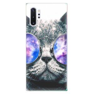 Odolné silikónové puzdro iSaprio - Galaxy Cat - Samsung Galaxy Note 10+ vyobraziť