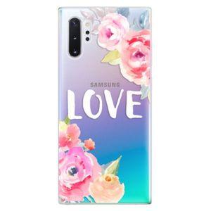 Odolné silikónové puzdro iSaprio - Love - Samsung Galaxy Note 10+ vyobraziť