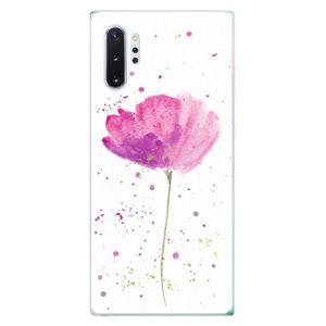 Odolné silikónové puzdro iSaprio - Poppies - Samsung Galaxy Note 10+ vyobraziť