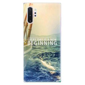 Odolné silikónové puzdro iSaprio - Beginning - Samsung Galaxy Note 10+ vyobraziť