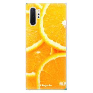 Odolné silikónové puzdro iSaprio - Orange 10 - Samsung Galaxy Note 10+ vyobraziť