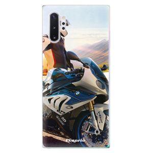 Odolné silikónové puzdro iSaprio - Motorcycle 10 - Samsung Galaxy Note 10+ vyobraziť