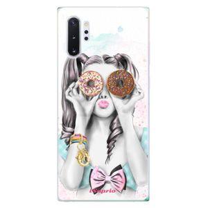Odolné silikónové puzdro iSaprio - Donuts 10 - Samsung Galaxy Note 10+ vyobraziť