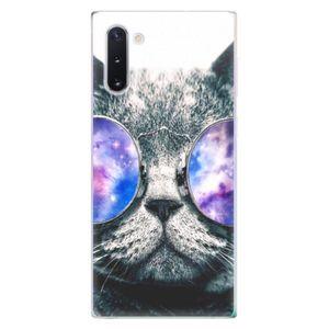 Odolné silikónové puzdro iSaprio - Galaxy Cat - Samsung Galaxy Note 10 vyobraziť