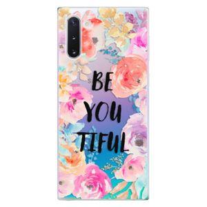 Odolné silikónové puzdro iSaprio - BeYouTiful - Samsung Galaxy Note 10 vyobraziť