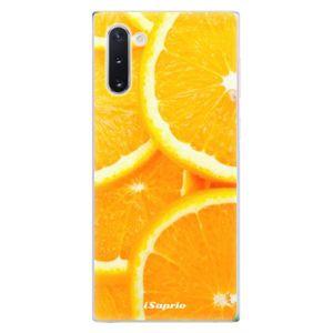 Odolné silikónové puzdro iSaprio - Orange 10 - Samsung Galaxy Note 10 vyobraziť
