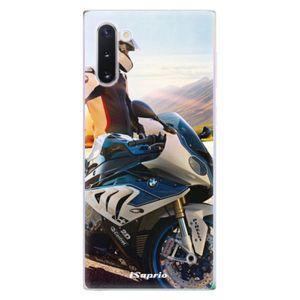 Odolné silikónové puzdro iSaprio - Motorcycle 10 - Samsung Galaxy Note 10 vyobraziť