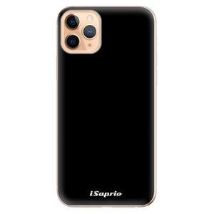 Odolné silikónové puzdro iSaprio - 4Pure - černý - iPhone 11 vyobraziť