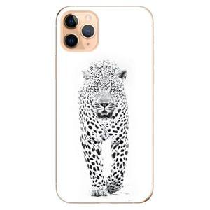 Odolné silikónové puzdro iSaprio - White Jaguar - iPhone 11 vyobraziť