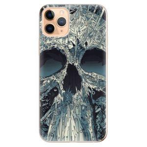 Odolné silikónové puzdro iSaprio - Abstract Skull - iPhone 11 vyobraziť