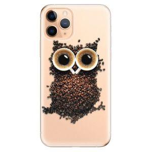 Odolné silikónové puzdro iSaprio - Owl And Coffee - iPhone 11 vyobraziť