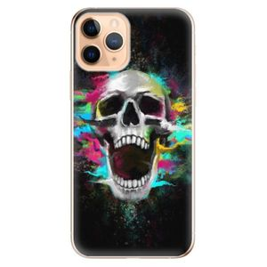 Odolné silikónové puzdro iSaprio - Skull in Colors - iPhone 11 vyobraziť