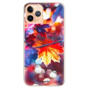 Odolné silikónové puzdro iSaprio - Autumn Leaves 02 - iPhone 11 vyobraziť