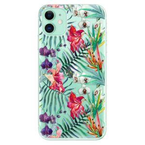 Odolné silikónové puzdro iSaprio - Flower Pattern 03 - iPhone 11 vyobraziť