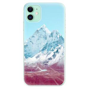 Odolné silikónové puzdro iSaprio - Highest Mountains 01 - iPhone 11 vyobraziť