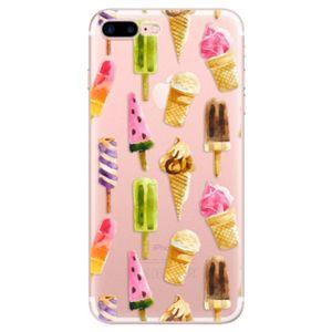 Odolné silikónové puzdro iSaprio - Ice Cream - iPhone 7 Plus vyobraziť