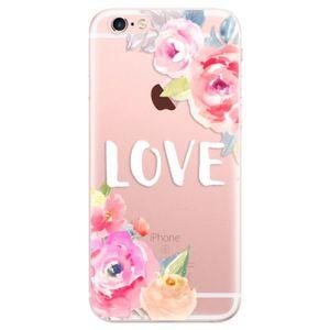 Odolné silikónové puzdro iSaprio - Love - iPhone 6 Plus/6S Plus vyobraziť