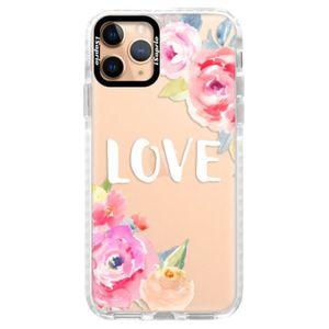 Silikónové puzdro Bumper iSaprio - Love - iPhone 11 Pro vyobraziť