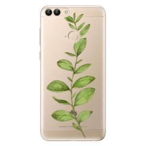 Odolné silikónové puzdro iSaprio - Green Plant 01 - Huawei P Smart vyobraziť