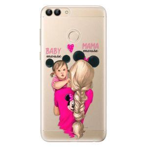 Odolné silikónové puzdro iSaprio - Mama Mouse Blond and Girl - Huawei P Smart vyobraziť