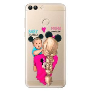 Odolné silikónové puzdro iSaprio - Mama Mouse Blonde and Boy - Huawei P Smart vyobraziť