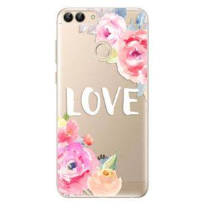 Odolné silikónové puzdro iSaprio - Love - Huawei P Smart vyobraziť