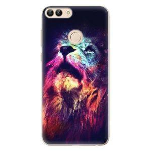 Odolné silikónové puzdro iSaprio - Lion in Colors - Huawei P Smart vyobraziť