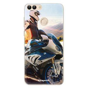 Odolné silikónové puzdro iSaprio - Motorcycle 10 - Huawei P Smart vyobraziť