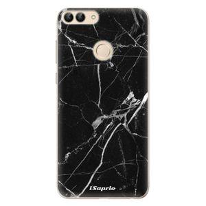Odolné silikónové puzdro iSaprio - Black Marble 18 - Huawei P Smart vyobraziť