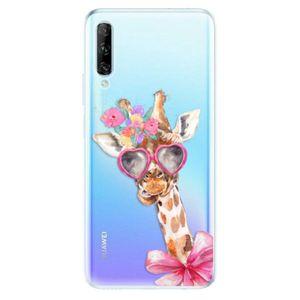 Odolné silikónové puzdro iSaprio - Lady Giraffe - Huawei P Smart vyobraziť