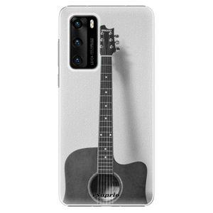 Plastové puzdro iSaprio - Guitar 01 - Huawei P40 vyobraziť