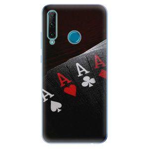 Odolné silikónové puzdro iSaprio - Poker - Honor 20e vyobraziť