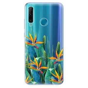 Odolné silikónové puzdro iSaprio - Exotic Flowers - Honor 20e vyobraziť