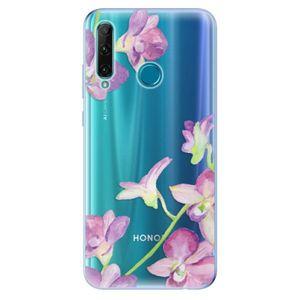 Odolné silikónové puzdro iSaprio - Purple Orchid - Honor 20e vyobraziť