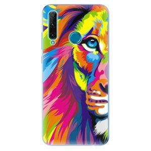 Odolné silikónové puzdro iSaprio - Rainbow Lion - Honor 20e vyobraziť