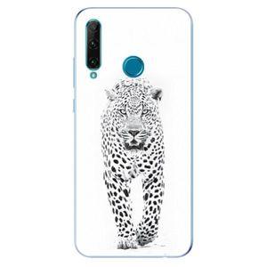 Odolné silikónové puzdro iSaprio - White Jaguar - Honor 20e vyobraziť