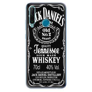 Odolné silikónové puzdro iSaprio - Jack Daniels - Honor 20e vyobraziť